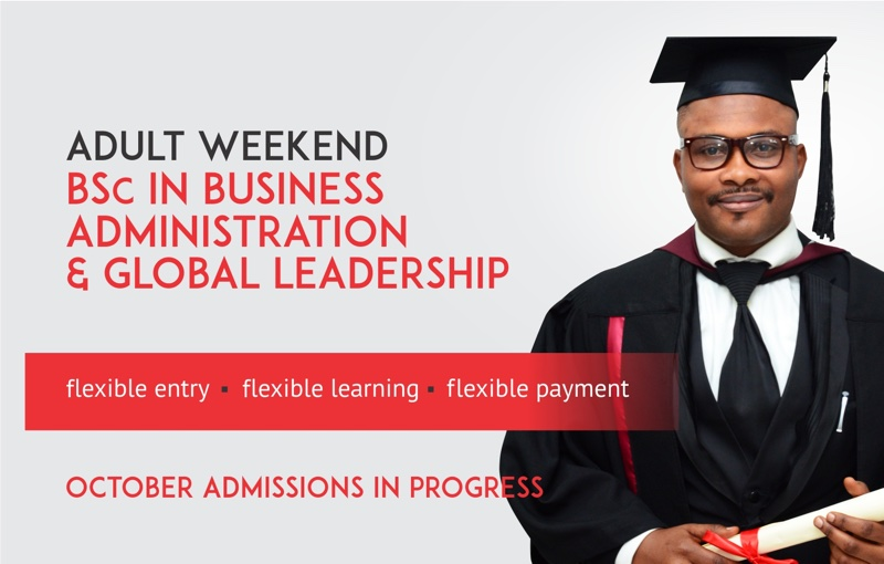 Top BSc. in Business Administration and Global Leadership - Accra, Ghana, West Africa